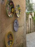 Ceramic Plates  Ravello  Campania  Italy