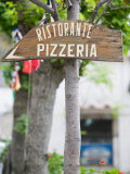 Pizzeria Sign  Positano  Amalfi Coast  Campania  Italy