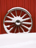 Martin Stables  Wheel Detail  Banff  Alberta