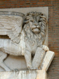 Statue of Lion of Venice  Verona  Italy