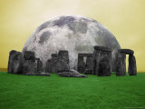 Full Moon over Stonehenge  England
