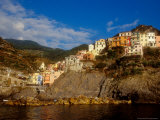 View of Manarola  Cinque Terre  Italy