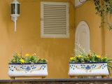 House Detail  Spiaggia Grande  Positano  Amalfi Coast  Campania  Italy