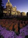 Victoria Parliament Building  British Columbia  Canada