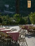 Piazza del Duomo  Cafe Tables  Ravello  Campania  Italy