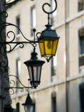 Street Lamps in Old Town  Annecy  French Alps  Savoie  Chambery  France