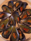 Black Mussels Dish  Cassis  France