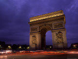 Arc de Triomphe  Champs-Elysees  Paris  France