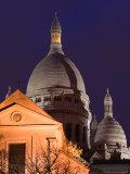 Basilique du Sacre Coeur  Place du Tertre  Montmartre  Paris  France