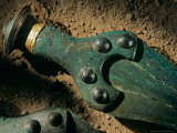 Detail of Sword with Inlaid Gold Trim  Sky Disk  Bronze Age  Germany