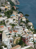 Town View  Positano  Amalfi Coast  Campania  Italy