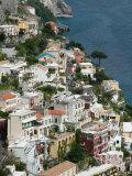Town View  Positano  Amalfi Coast  Campania  Italy