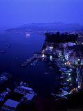 Grand Marina at Night  Sorrento  Italy