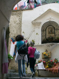 Positano Shoppers  Positano  Amalfi Coast  Campania  Italy