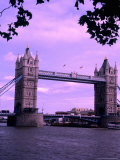 Tower of London Bridge  London  England