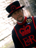 Beefeater at the Tower of London  London  England