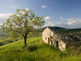 Old Farmhouse  Pergusa  Enna  Sicily  Italy