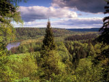 Ancient Valley of Gauja River  Guaja National Park  Painter's Hill  Latvia