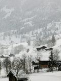 Ski Chalets  Grindelwald  Bern  Switzerland
