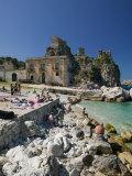 Old Tuna Factory  Tonnara Scopello  Scopello  Sicily  Italy