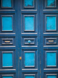 Blue Doorway  Cefalu  Sicily  Italy