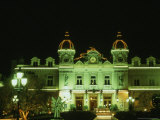 Monte Carlo Casino at Night  Monaco