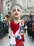 Fasnacht Carnival Costumes and Parade  Basel  Switzerland