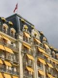Le Montreux Place Hotel on Lake Geneva  Montreux  Swiss Riviera  Vaud  Switzerland