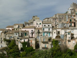 Town View from the South  Ragusa Ibla  Sicily  Italy