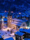 Parish Church  Zermatt  Valais  Wallis  Switzerland
