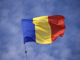 Romanian National Flag  Romania