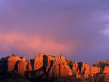 Cathedral Rocks in Sedona  Arizona  USA