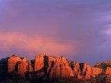 Cathedral Rocks in Sedona  Arizona  USA