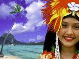 Native Dancer in Tahiti