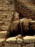 Incan Ruins  Machu Picchu  Peru