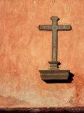 Building Cross  Antigua  Highlands  Guatemala