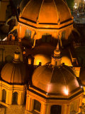 Night View of Church of San Diego  Guanajuato  Mexico
