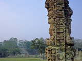 Carved Mayan Pillar  Honduras