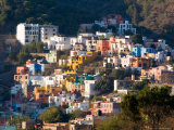 Colorful Hillside Houses  Guanajuato  Mexico