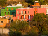 Colorful Hillside Buildings  Guanajuato  Mexico
