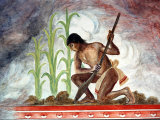 Arturo Garcia Bustos&#39;s Murals Adorn the Walls of the Presidential Palace  Oaxaca  Mexico