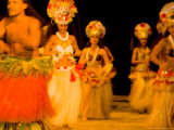 Traditional Dance and Cultural Show at Tiki Village  Moorea  French Polynesia