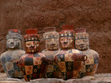 Face Neck Jars  National Museum of Peru  Empires of the Sun  Wari  Huari  Peru