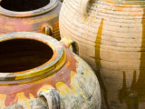 Pots on Display at Viansa Winery  Sonoma Valley  California  USA