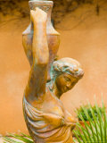 Statue of Goddess at Viansa Winery  Sonoma Valley  California  USA