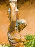 Statue of Goddess at Viansa Winery  Sonoma Valley  California  USA