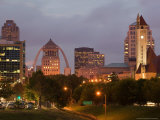 City View before Dawn  St Louis  Missouri  USA