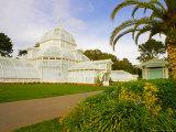 Golden Gate Park  San Francisco Conservatory of Flowers  San Francisco  California  USA