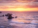 Big Sur at Sunset  California  USA