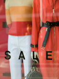 Sale Sign  Rodeo Drive  Beverly Hills  Los Angeles  California  USA